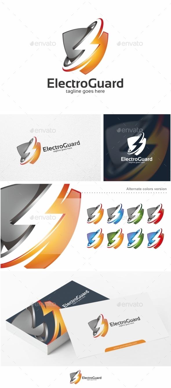 Electro Guard - Logo Template - Symbols Logo Templates