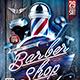 Flyer Barber Shop Konnekt - GraphicRiver Item for Sale