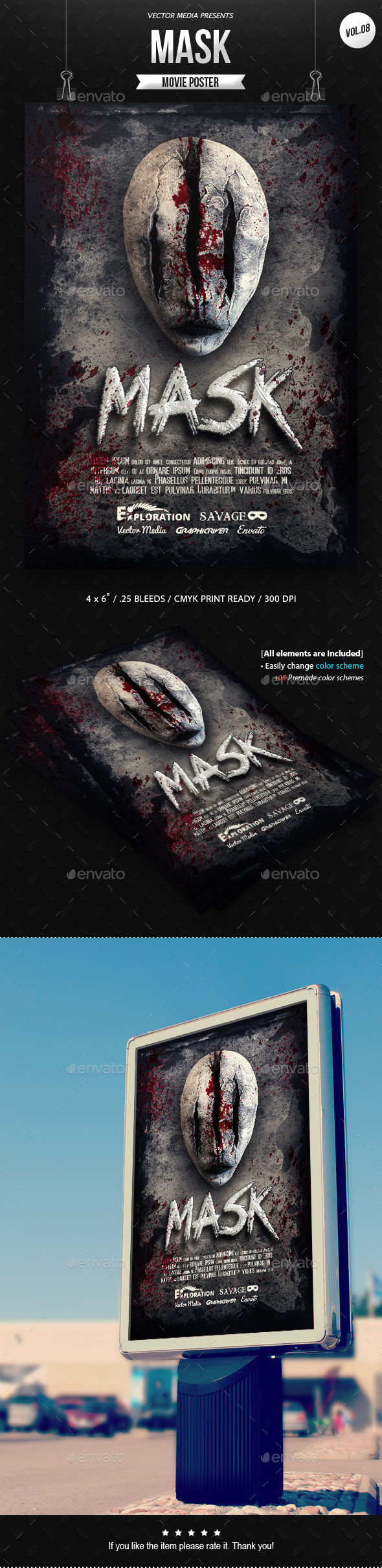 Horror - Movie Poster [Vol.8] - Miscellaneous Events