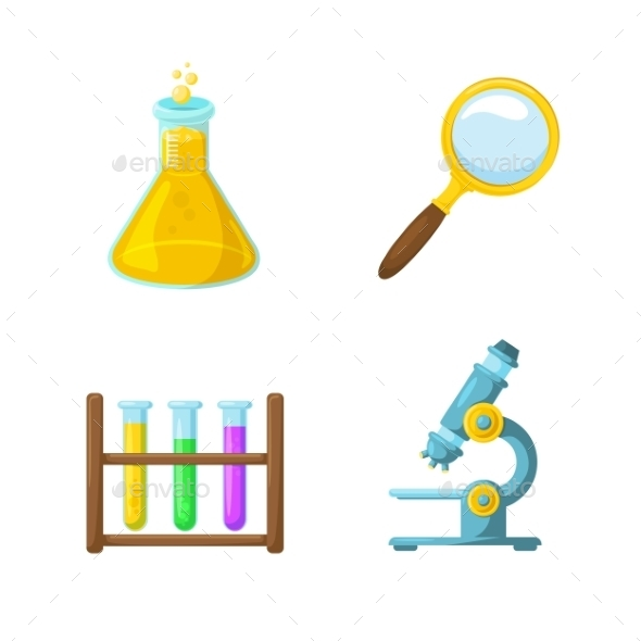 Science Symbols - Miscellaneous Vectors