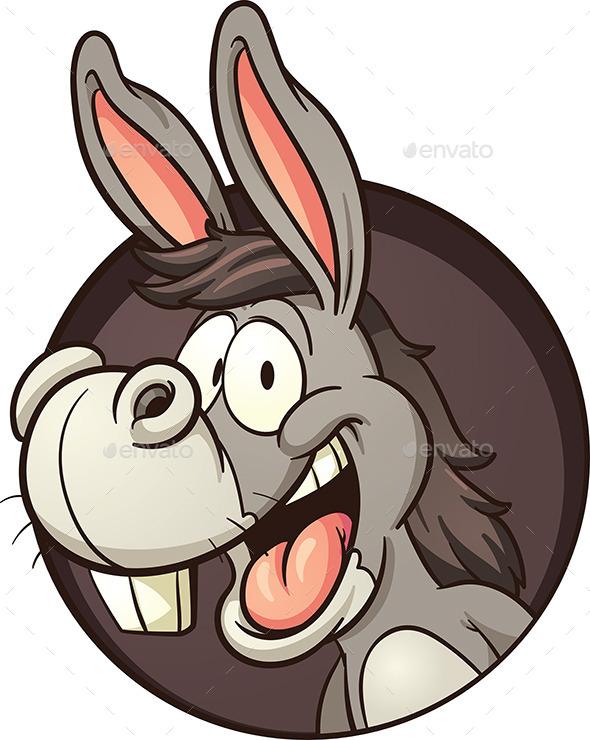 Cartoon Donkey - Animals Characters
