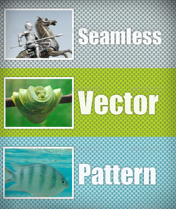 Scales vector pattern - Patterns Decorative