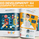SEO Development Infographic Design 18 Pages - GraphicRiver Item for Sale