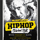HipHop OldSchool Night PosterFlyer - GraphicRiver Item for Sale