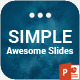 Simple PowerPoint Presentation Template - GraphicRiver Item for Sale