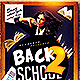 Back 2 School Flyer | Flyer Template PSD - GraphicRiver Item for Sale