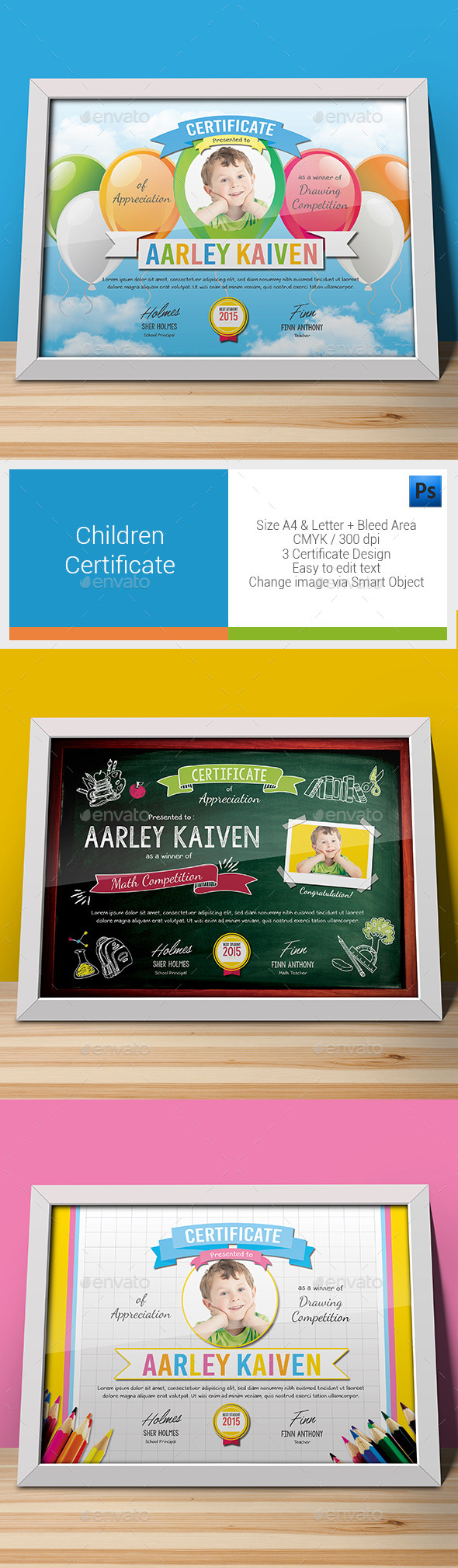 Children Certificates - Certificates Stationery
