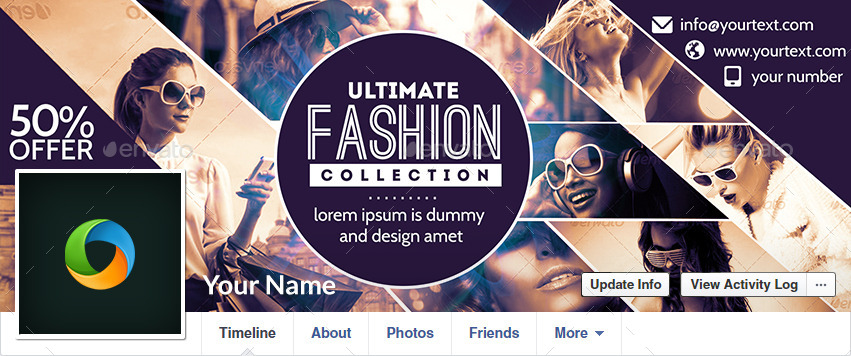 Fashion Sale Facebook Covers - 5 Designs by doto | GraphicRiver