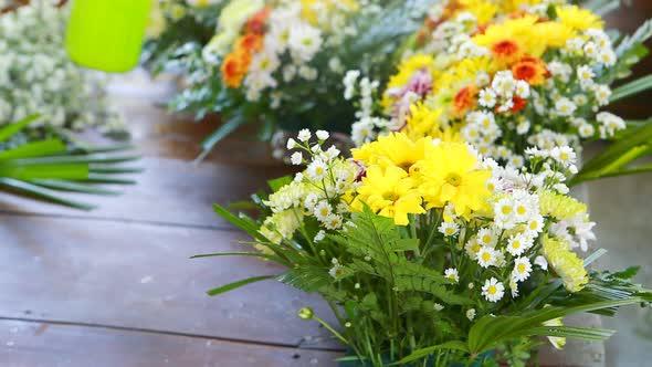 Flower Bouquet Preparing 7