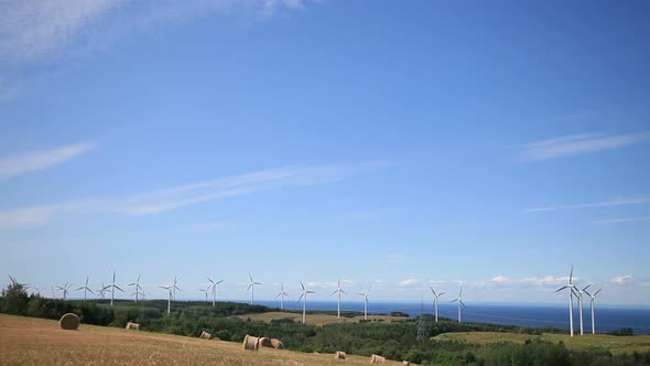 Wind Turbine And Field 1