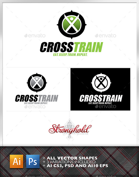 Cross Training Logo Template - Logo Templates