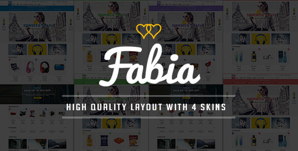 Fabia - Responsive Multipurpose HTML5 Template - Shopping Retail