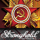 Vintage Russian Military Style Event Flyer - GraphicRiver Item for Sale