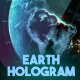 Earth Hologram - VideoHive Item for Sale