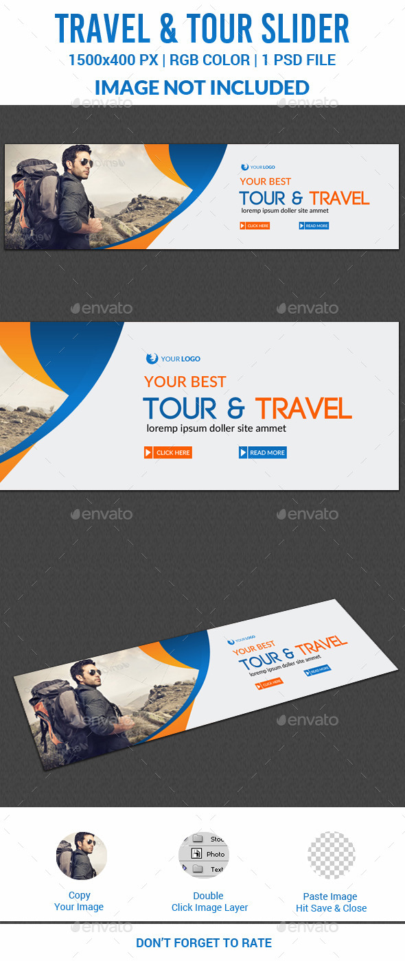 Travel Slider - Sliders & Features Web Elements