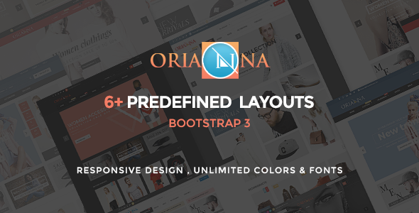 Orianna – HTML Multi Purpose Template