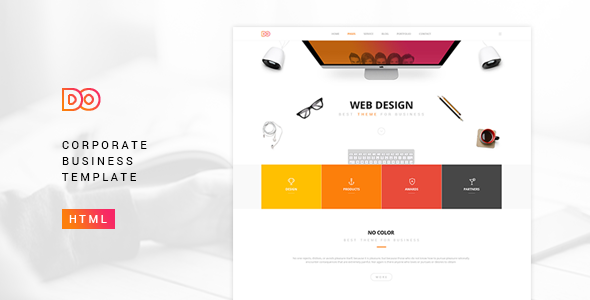 Do-Corporate Business Template