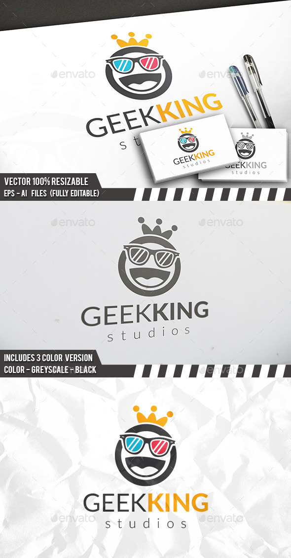Geek King Logo