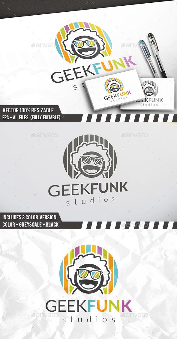 Geek Funk Logo - Humans Logo Templates