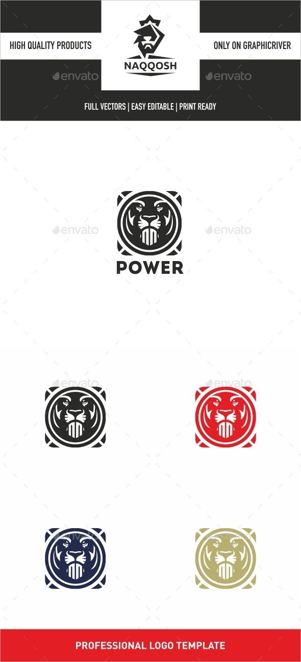 Power - Symbols Logo Templates