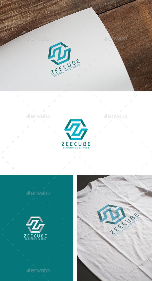 Z Cube Letter Logo