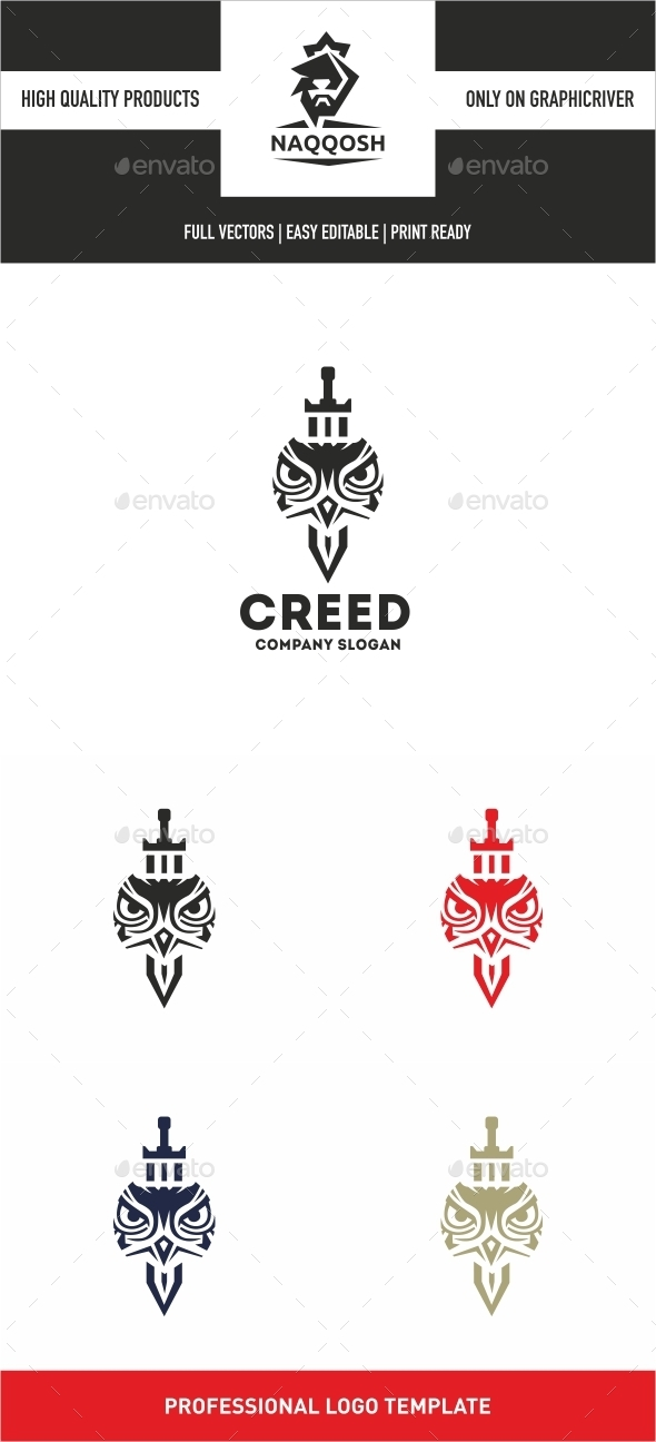 Creed - Symbols Logo Templates