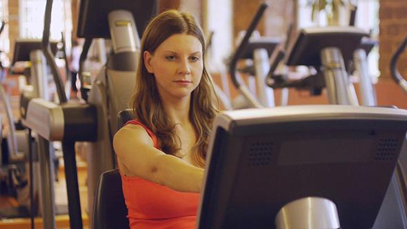 Girl Do Exercise For Legs