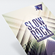 Slow Rock - Flyer Template - GraphicRiver Item for Sale