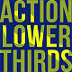 Minimal Action Lower Thirds - VideoHive Item for Sale