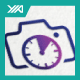 Photo Time - Camera Clock - Photography Logo - GraphicRiver Item for Sale