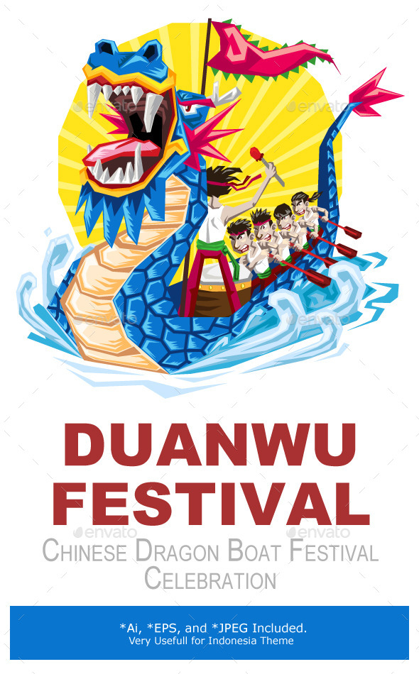 Duanwu Dragon Boat Festival - Sports/Activity Conceptual