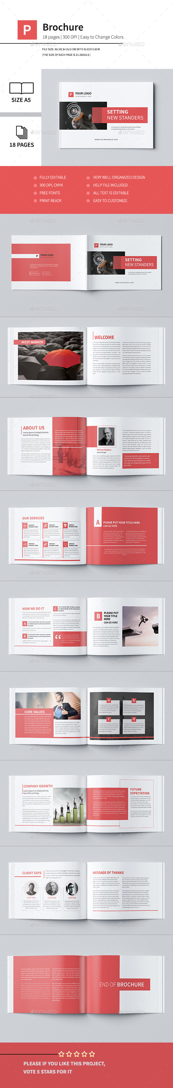 Minimal Business Brochure IV - Corporate Brochures