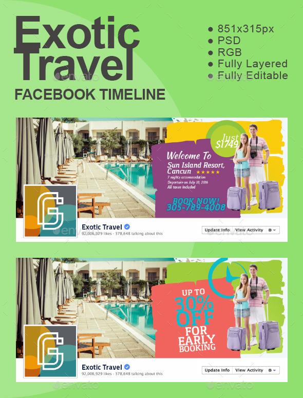 Exotic Travel Timeline