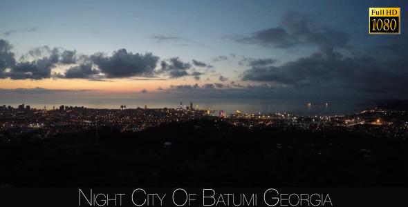 Night City Of Batumi