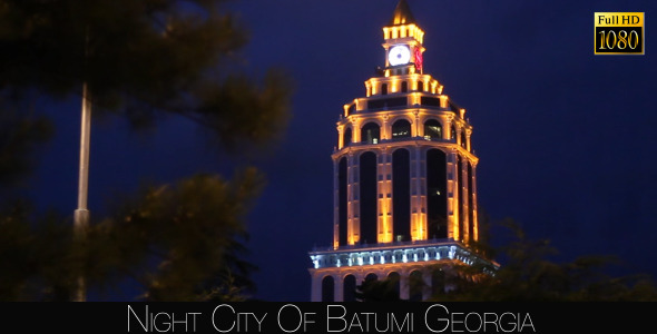 Night City Of Batumi 5