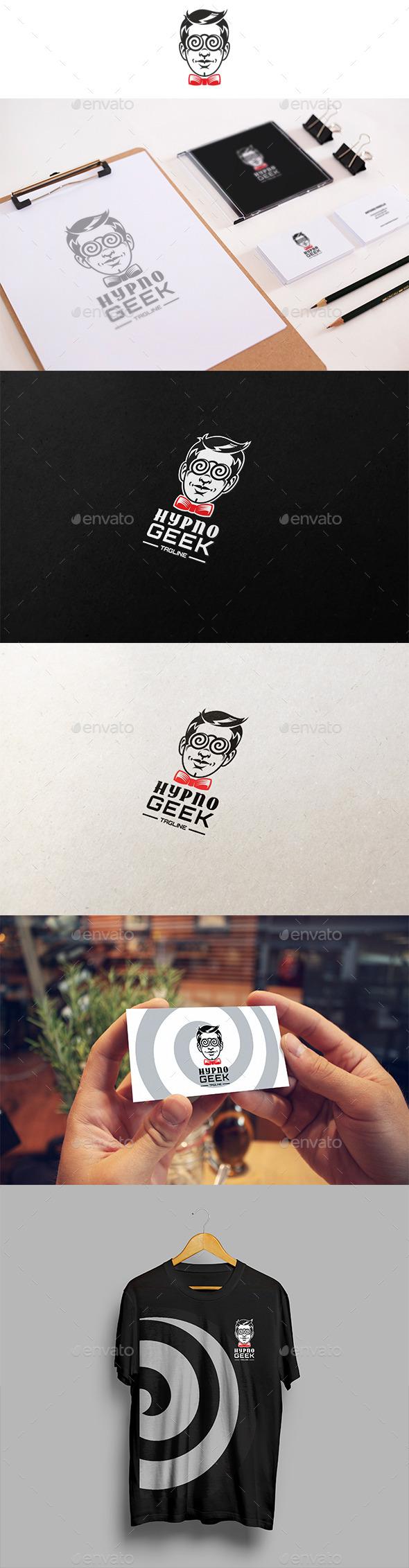Hypno Geek Logo - Humans Logo Templates