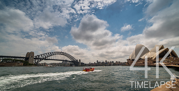 Sydney Harbour Bridge and Opera House 2