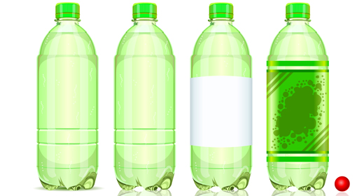 Generic Bottles Vector Collection Set