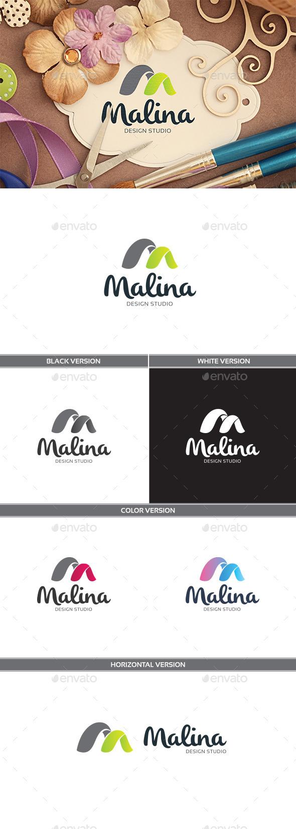 Malina - Letters Logo Templates