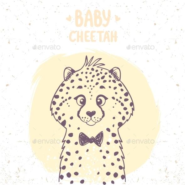 Cheetah Baby - Animals Characters