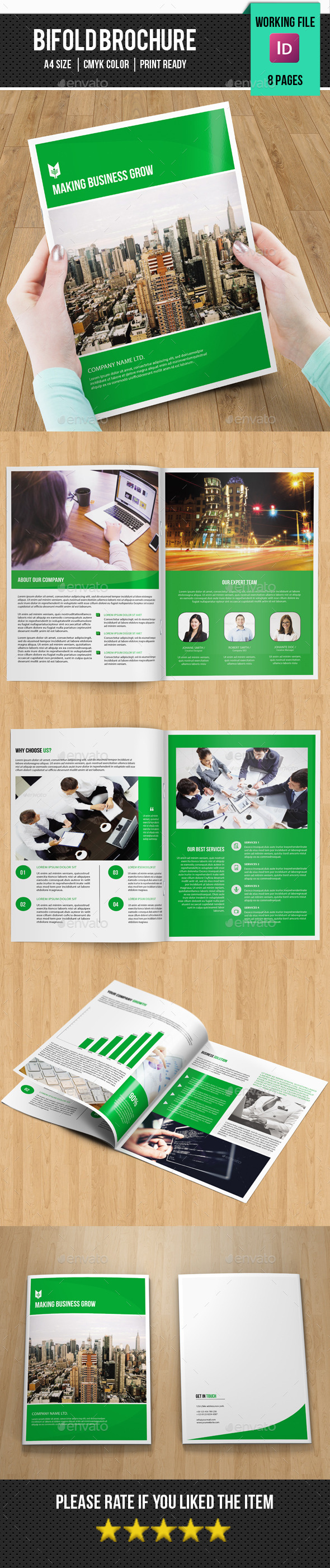 Business Brochure Template-V301 - Corporate Brochures