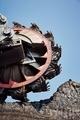Huge mining machine