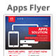 Web App Solution Flyer Template - GraphicRiver Item for Sale
