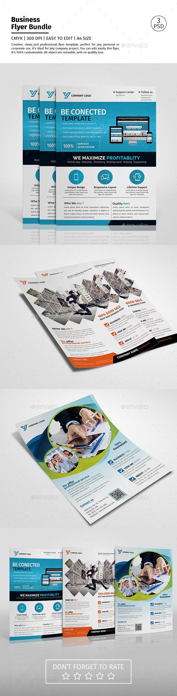 Corporate Flyer Bundle 01
