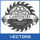 Carpentry Design Elements Set - GraphicRiver Item for Sale