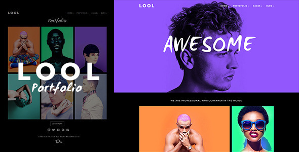 LOOL – Responsive Creative Portfolio Photography