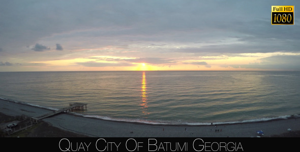 Quay City Of Batumi