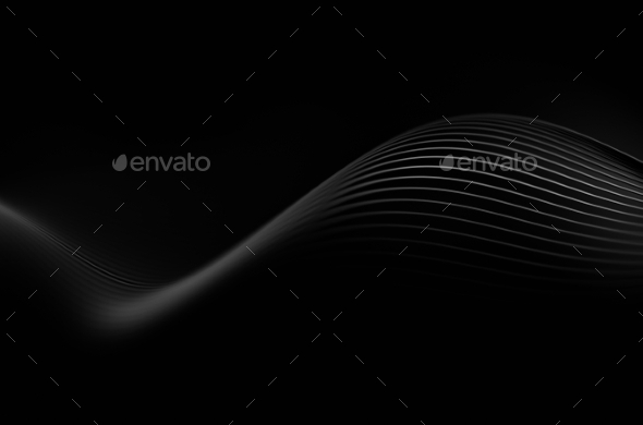 Abstract Rendering Of Dark Background - Abstract Backgrounds