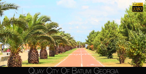 Quay City Of Batumi 4