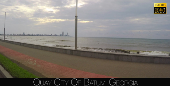 Quay City Of Batumi 11